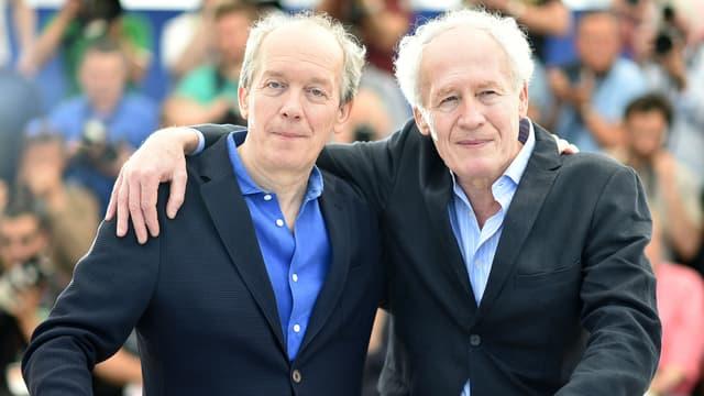 Les frères Dardenne au Festival de Cannes le 18 mai 2016