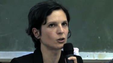Sandrine Rousseau, lors d'une table ronde en 2010.