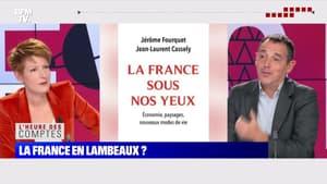 """Jérôme Fourquet: """"En quelques décennies, on est passé de cette économie de la production à une économie de la consommation, des loisirs et du tourisme"""" - 18/10"""