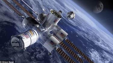 Le premier hôtel de luxe dans l'espace proposera des séjours de douze jours pour 9,5 millions de dollars.