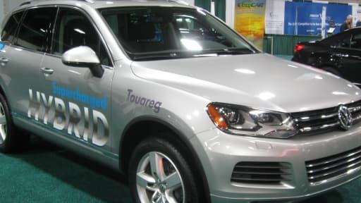 Le dispositif concerne notamment les véhicules hybrides, comme ce Volkswagen Touareg