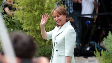L'ancienne ministre de l'écologie Ségolène Royal lors d'une cérémonie officielle à Paris, le 1er mai 2017 (image d'illustration)