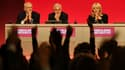 Les dirigeants du Labour lors du Congrès du parti le 24 septembre 2018 à Manchester.