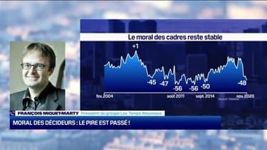 François Miquet-Marty (Les Temps Nouveaux): Moral des décideurs, le pire est passé ! - 27/11