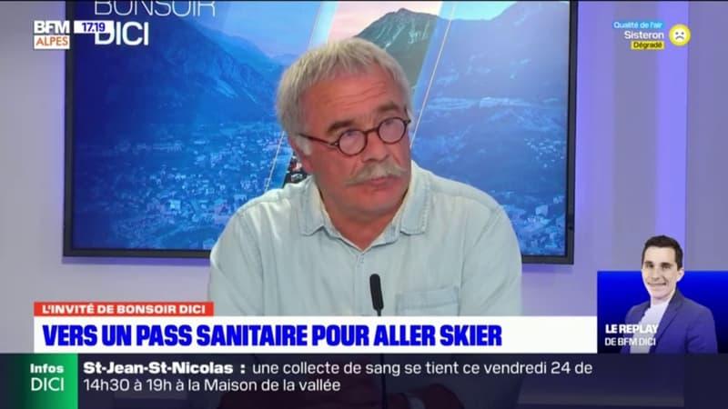 Hautes-Alpes: le maire de Réallon n'est pas inquiet par la possible mise en place du pass sanitaire dans sa station