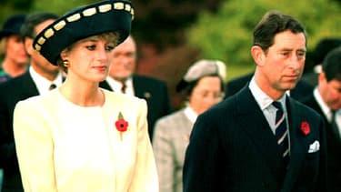 Lady Diana et le prince Charles en visite en Corée du Sud en 1992