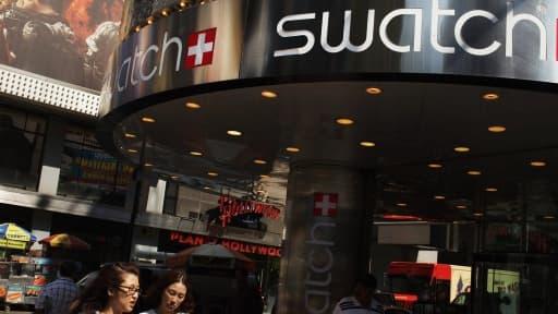 Swatch vise les 1.700 magasins ou points de vente dans le monde d'ici 2017.