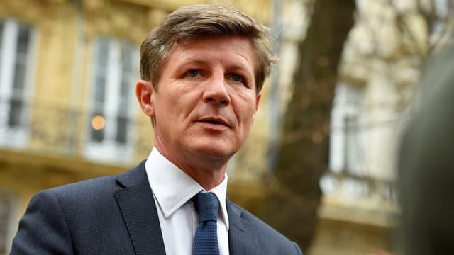 Nicolas Florian, maire LR de Bordeaux, en mars 2019