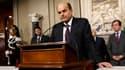 Le dirigeant du centre gauche italien Pier Luigi Bersani a déclaré jeudi au président Giorgio Napolitano que ses discussions en vue de former un gouvernement n'avaient pu aboutir et le chef de l'Etat a décidé de se saisir du dossier. /Photo prise le 28 ma