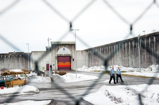 La prison de Skien, à 130 km au sud-ouest d'Oslo, où Anders Breivik purge sa peine, le 14 mars 2016