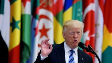 Le président américain Donald Trump à Riyadh le 21 mai 2017