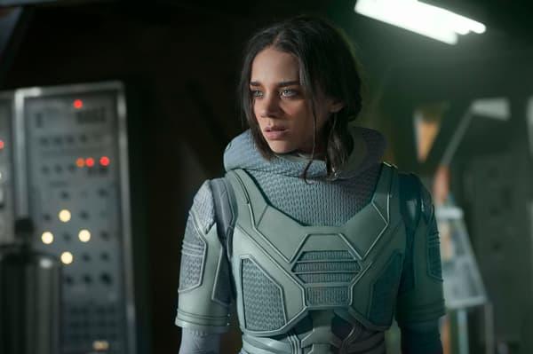 Hannah John-Kamen dans Ant-Man et la Guêpe