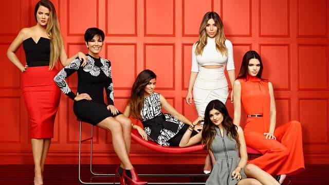 Les Kardashian et les Jenner posent pour la 9e saison de L'Incroyable famille Kardashian.