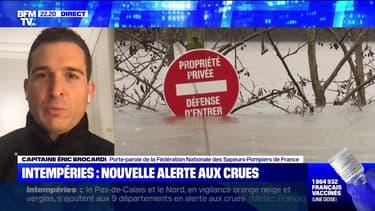 Intempéries : nouvelle alerte aux crues - 06/02