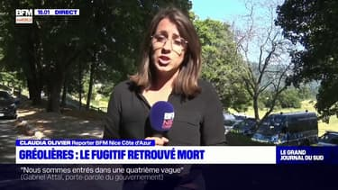 Gréolières: le fugitif retrouvé mort