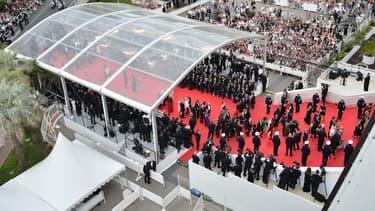 L'ouverture du 67e Festival de Cannes, en 2014