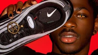 """Lil Nas X et ses """"Satan Shoes"""""""