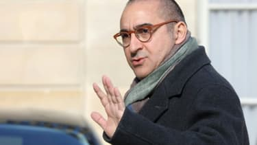 Laurent Nuñez le 27 mars 2019 à la sortie de l'Elysée