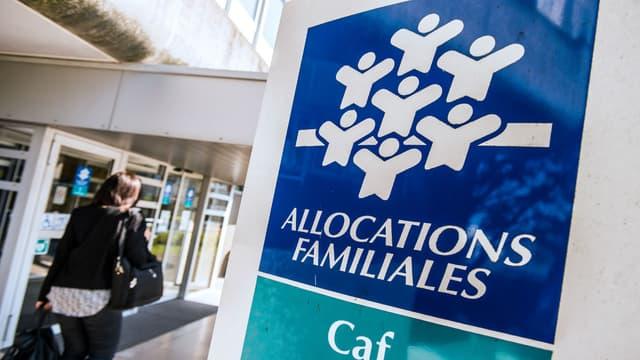 La Caisse d'allocations familiales de Calais, en avril 2015 (photo d'illustration)