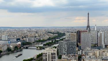 Paris sera encore victime d'un pic de pollution mercredi (photo illustration).