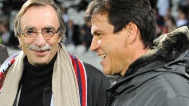 Michel Seydoux avec Rudi Garcia