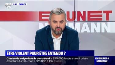 """Conférence de François Hollande annulée: """"Je n'aime pas qu'on déchire des livres, même ceux de François Hollande"""" (Alexis Corbière)"""