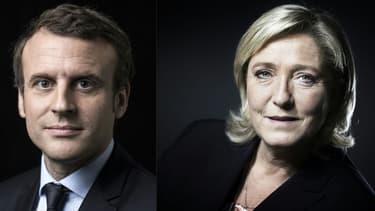 Marine Le Pen inquiète davantage les épargnants qu'Emmanuel Macron