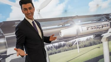 Le patron d'Hyperloop Transportation Technologies, Bibop Gresta.