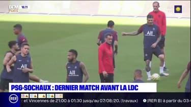 PSG-Sochaux: dernier match amical ce soir avant l'Atalanta