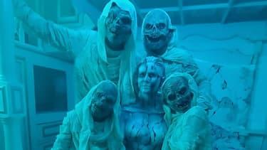 Heidi Klum entourée de ses enfants pour Halloween 2020
