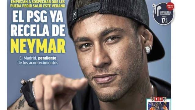 Neymar en Une de Marca