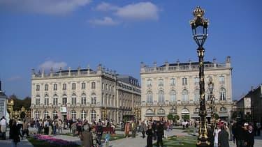 Nancy, vu de la place Stanislas