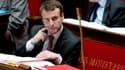 Emmanuel Macron à l'Assemblée le samedi 14 février 2015.