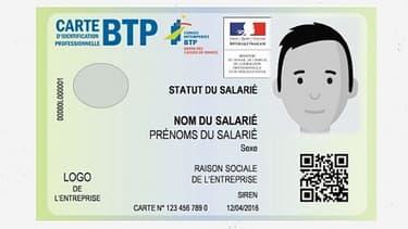 Le gouvernement lance la carte d'identification professionnelle dans le secteur du BTP.