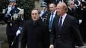 Le nouveau ministre français de l'Intérieur, Claude Guéant (à gauche), ici avec son prédecesseur Brice Hortefeux lors de la passation des pouvoirs, a promis de lutter contre l'immigration irrégulière, à l'heure où les crises tunisienne et libyenne présage