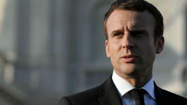 Emmanuel Macron (Photo d'illustration)