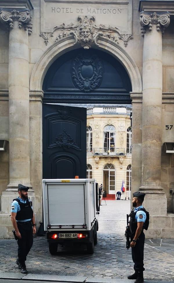 Les portes de Matignon, ce vendredi 3 juin