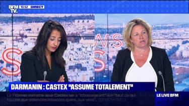 "Darmanin : Castex ""assume totalement"" - 08/07"