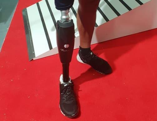 La jambe bionique Proteor.