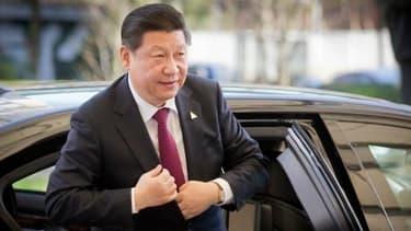 Xi JinPing lors de son arrivée aux Pays-Bas, le 24 mars, lors du début de sa tournée européenne.