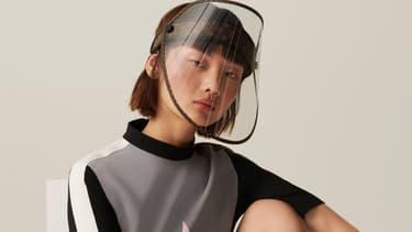 La visière de protection de Louis Vuitton