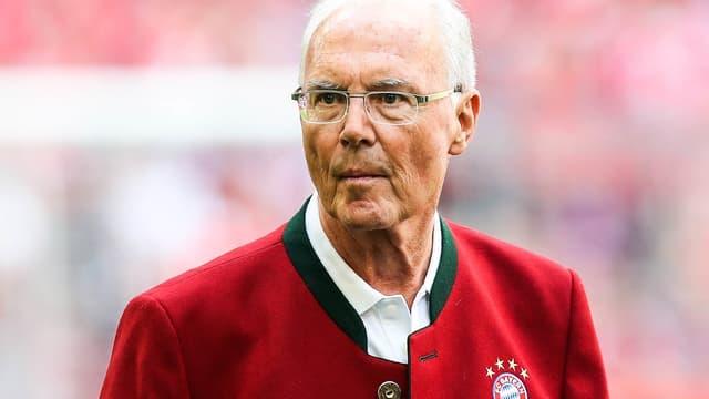 Beckenbauer en mai 2018