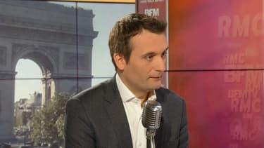 Florian Philippot sur BFMTV et RMC le 15 mai.