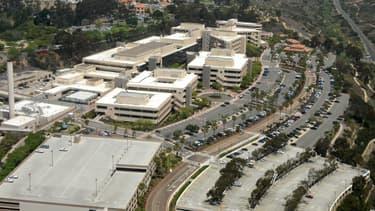 Le Naval Medical Center à San Diego.