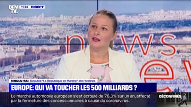 """Nadia Hai, députée """"la République en Marche"""" des Yvelines a été nommée ministre déléguée à la Ville."""