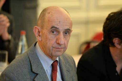 Le président du conseil de surveillance de PSA Louis Gallois le 26 février 2016 à Paris