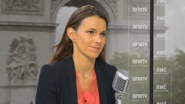 La ministre de la Culture Aurélie Filippetti