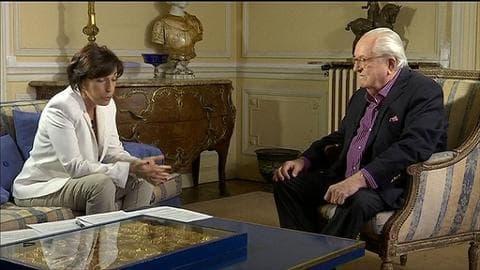 """Jean-Marie Le Pen sur sa nouvelle formation: """"Elle n'a pas un but électoral"""""""