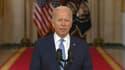 Joe Biden s'adresse aux Américains après le départ des derniers soldats d'Afghanistan