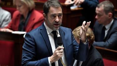 Christophe Castaner devant l'Assemblée nationale